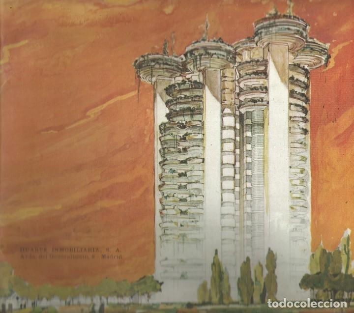 FOLLETO ILUSTRADO CATALOGO ORIGINAL TORRES BLANCAS AÑO 1967 - HUARTE INMOBILIARIA - MADRID (Coleccionismo - Folletos de Turismo)