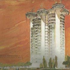 Folletos de turismo: FOLLETO ILUSTRADO CATALOGO ORIGINAL TORRES BLANCAS AÑO 1967 - HUARTE INMOBILIARIA - MADRID. Lote 194201352