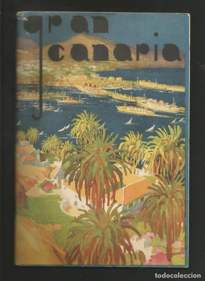 FOLLETO TURISTICO GRAN CANARIA JUNTA PROVINCIAL DE TURISMO (Coleccionismo - Folletos de Turismo)