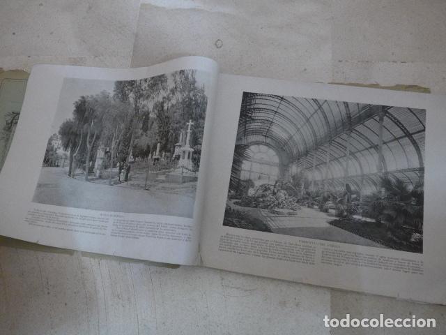 Folletos de turismo: * Antiguo album de fotos de principios siglo XX, barcelona a la vista, original. ZX - Foto 3 - 194240121