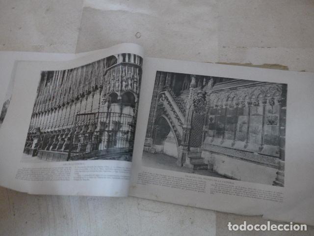 Folletos de turismo: * Antiguo album de fotos de principios siglo XX, barcelona a la vista, original. ZX - Foto 4 - 194240121