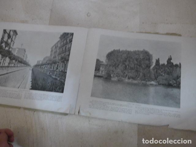 Folletos de turismo: * Antiguo album de fotos de principios siglo XX, barcelona a la vista, original. ZX - Foto 5 - 194240121