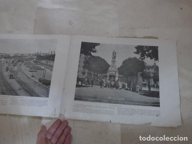 Folletos de turismo: * Antiguo album de fotos de principios siglo XX, barcelona a la vista, original. ZX - Foto 6 - 194240121
