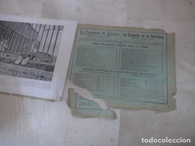 Folletos de turismo: * Antiguo album de fotos de principios siglo XX, barcelona a la vista, original. ZX - Foto 7 - 194240121