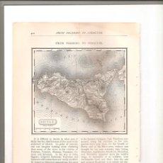 Folletos de turismo: 1152. DE PALERMO A SIRACUSA (FROM PALERMO TO SYRACUSE). Lote 194338033
