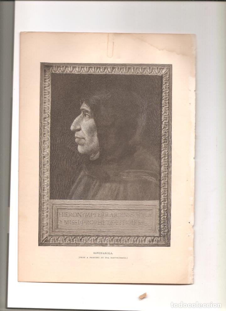 1153. SAVONAROLA (Coleccionismo - Folletos de Turismo)