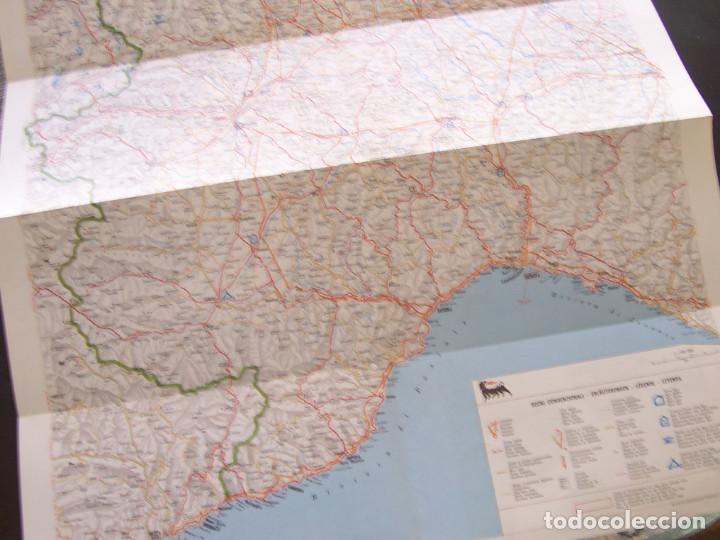 Folletos de turismo: Mapa de carreteras de Italia año 1965. Carta de stradale AGIP. Desplegables turismo - Foto 3 - 194354835