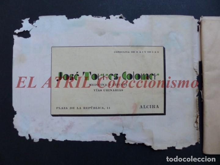 Folletos de turismo: ALCIRA, VALENCIA - RARO PROGRAMA DE FERIA Y FIESTAS CHORIOL - AÑO 1932 - Foto 2 - 194605681