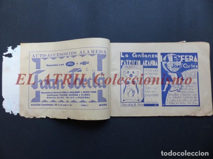 Folletos de turismo: ALCIRA, VALENCIA - RARO PROGRAMA DE FERIA Y FIESTAS CHORIOL - AÑO 1932 - Foto 4 - 194605681