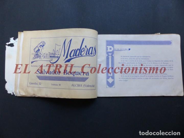 Folletos de turismo: ALCIRA, VALENCIA - RARO PROGRAMA DE FERIA Y FIESTAS CHORIOL - AÑO 1932 - Foto 11 - 194605681