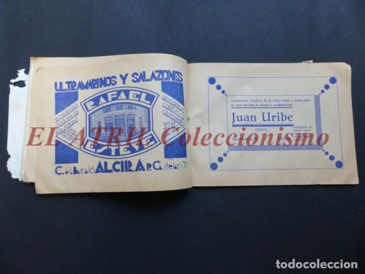 Folletos de turismo: ALCIRA, VALENCIA - RARO PROGRAMA DE FERIA Y FIESTAS CHORIOL - AÑO 1932 - Foto 18 - 194605681