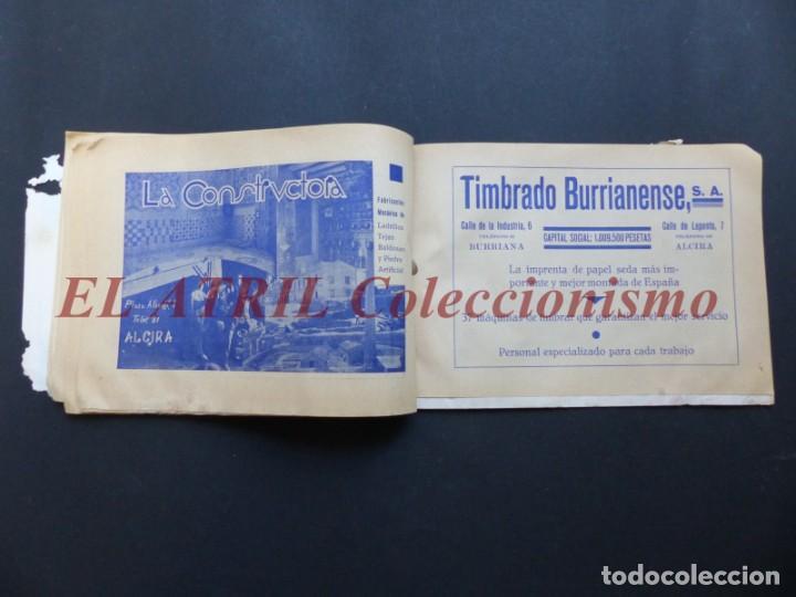 Folletos de turismo: ALCIRA, VALENCIA - RARO PROGRAMA DE FERIA Y FIESTAS CHORIOL - AÑO 1932 - Foto 21 - 194605681