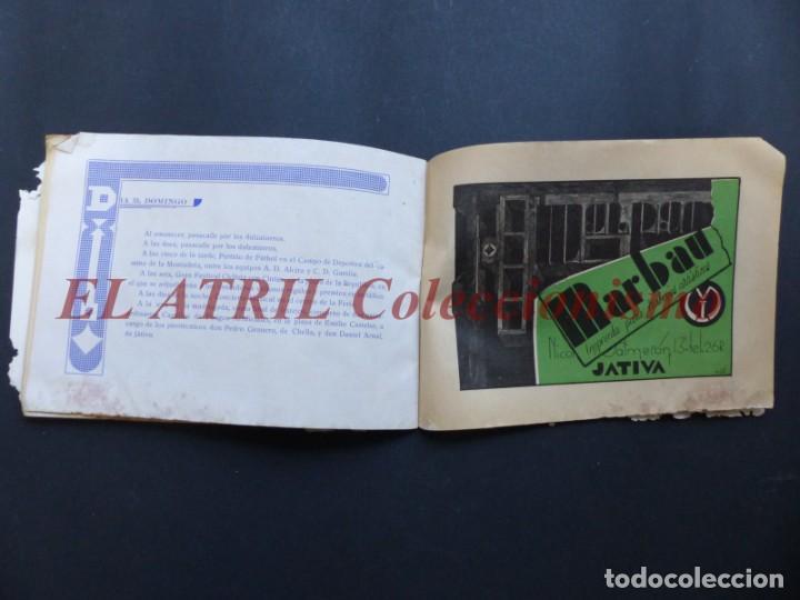 Folletos de turismo: ALCIRA, VALENCIA - RARO PROGRAMA DE FERIA Y FIESTAS CHORIOL - AÑO 1932 - Foto 29 - 194605681