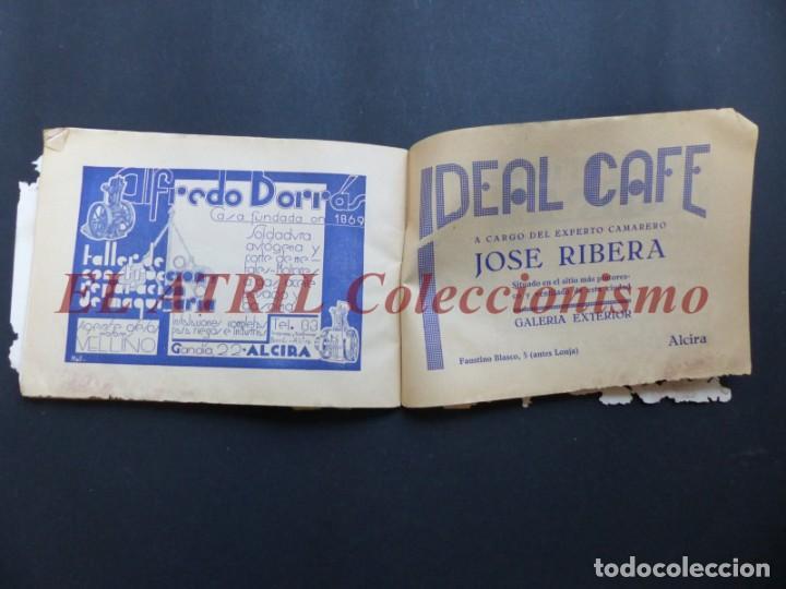 Folletos de turismo: ALCIRA, VALENCIA - RARO PROGRAMA DE FERIA Y FIESTAS CHORIOL - AÑO 1932 - Foto 30 - 194605681