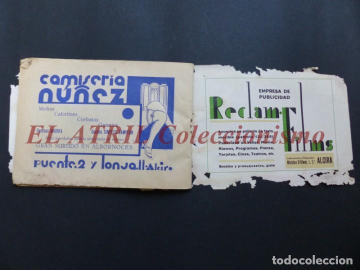 Folletos de turismo: ALCIRA, VALENCIA - RARO PROGRAMA DE FERIA Y FIESTAS CHORIOL - AÑO 1932 - Foto 31 - 194605681