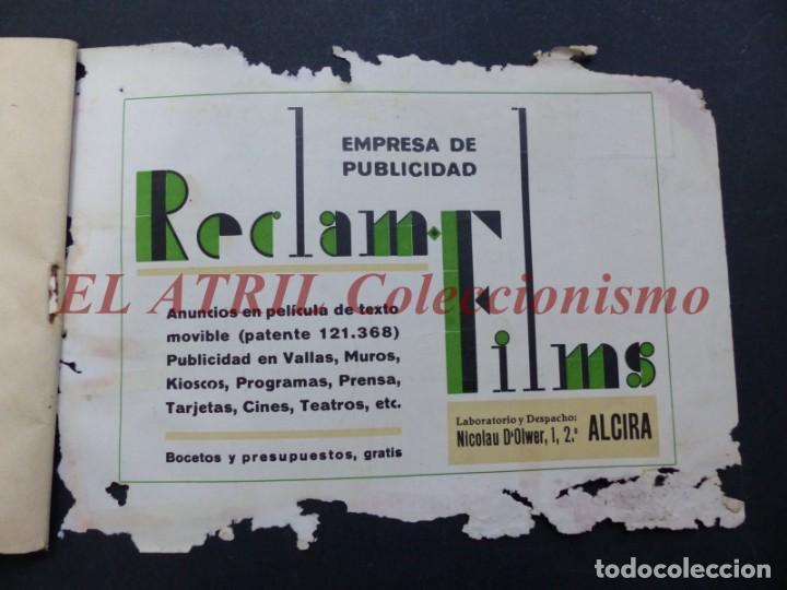 Folletos de turismo: ALCIRA, VALENCIA - RARO PROGRAMA DE FERIA Y FIESTAS CHORIOL - AÑO 1932 - Foto 32 - 194605681