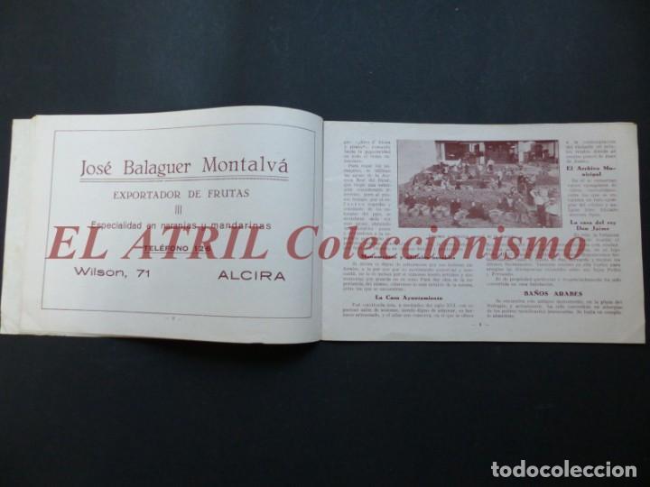 Folletos de turismo: ALCIRA, VALENCIA - EXPOSICION INTERNACIONAL BARCELONA, AÑO 1929, CATALOGO DE EXPOSITORES - Foto 6 - 194608737
