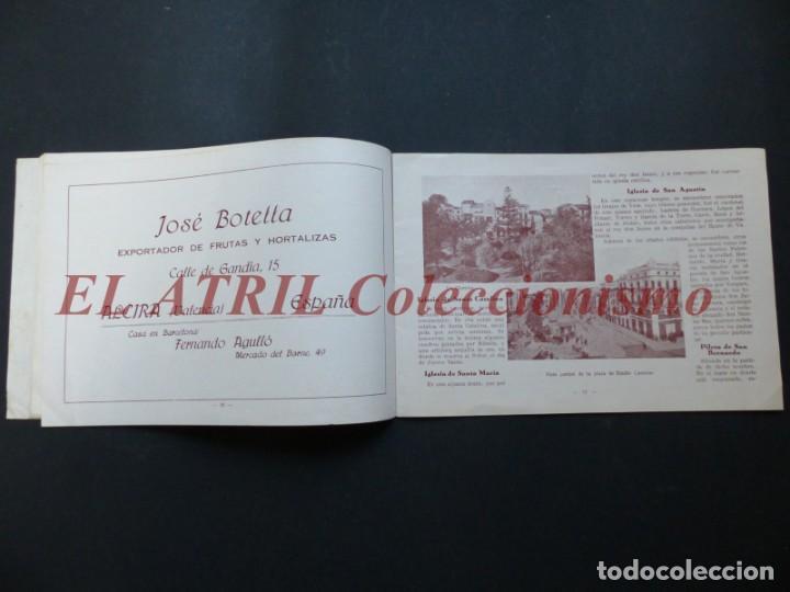 Folletos de turismo: ALCIRA, VALENCIA - EXPOSICION INTERNACIONAL BARCELONA, AÑO 1929, CATALOGO DE EXPOSITORES - Foto 7 - 194608737
