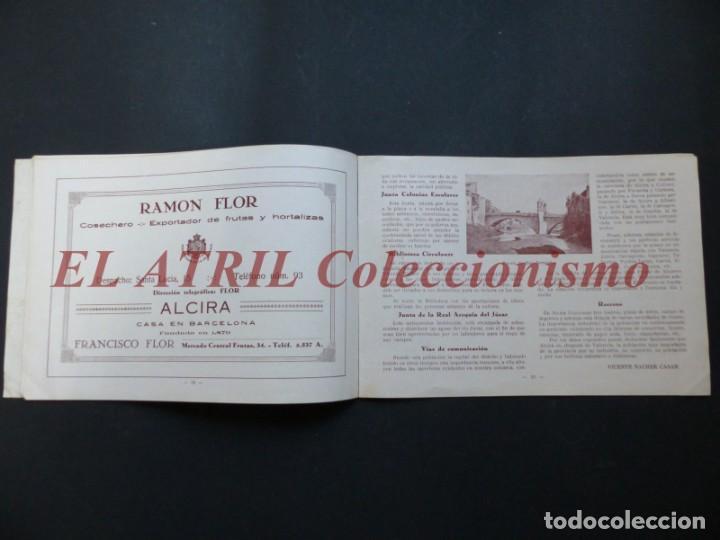 Folletos de turismo: ALCIRA, VALENCIA - EXPOSICION INTERNACIONAL BARCELONA, AÑO 1929, CATALOGO DE EXPOSITORES - Foto 9 - 194608737