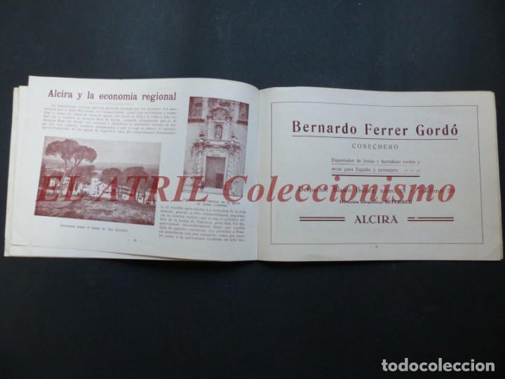 Folletos de turismo: ALCIRA, VALENCIA - EXPOSICION INTERNACIONAL BARCELONA, AÑO 1929, CATALOGO DE EXPOSITORES - Foto 11 - 194608737