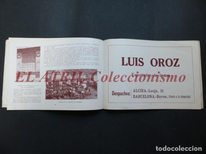 Folletos de turismo: ALCIRA, VALENCIA - EXPOSICION INTERNACIONAL BARCELONA, AÑO 1929, CATALOGO DE EXPOSITORES - Foto 12 - 194608737