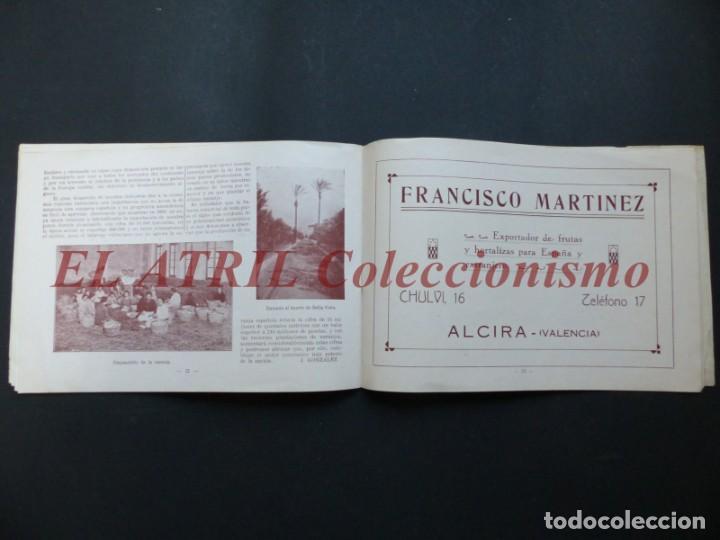 Folletos de turismo: ALCIRA, VALENCIA - EXPOSICION INTERNACIONAL BARCELONA, AÑO 1929, CATALOGO DE EXPOSITORES - Foto 13 - 194608737