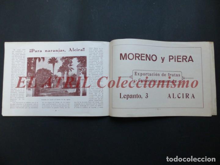 Folletos de turismo: ALCIRA, VALENCIA - EXPOSICION INTERNACIONAL BARCELONA, AÑO 1929, CATALOGO DE EXPOSITORES - Foto 14 - 194608737