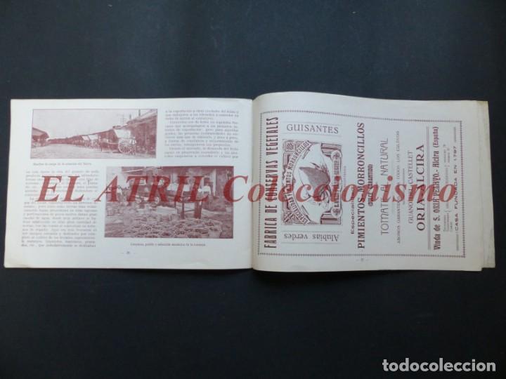 Folletos de turismo: ALCIRA, VALENCIA - EXPOSICION INTERNACIONAL BARCELONA, AÑO 1929, CATALOGO DE EXPOSITORES - Foto 15 - 194608737