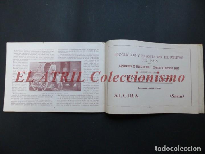 Folletos de turismo: ALCIRA, VALENCIA - EXPOSICION INTERNACIONAL BARCELONA, AÑO 1929, CATALOGO DE EXPOSITORES - Foto 16 - 194608737
