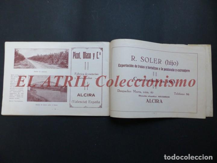 Folletos de turismo: ALCIRA, VALENCIA - EXPOSICION INTERNACIONAL BARCELONA, AÑO 1929, CATALOGO DE EXPOSITORES - Foto 17 - 194608737