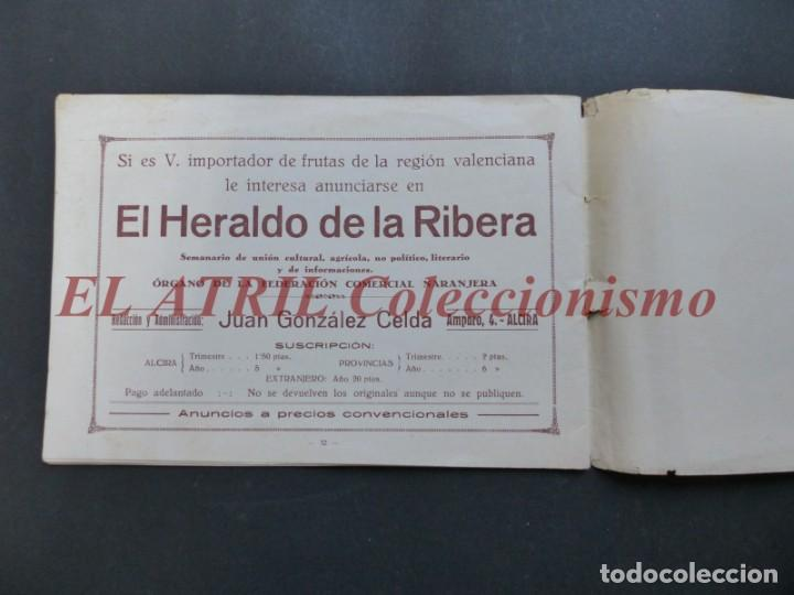 Folletos de turismo: ALCIRA, VALENCIA - EXPOSICION INTERNACIONAL BARCELONA, AÑO 1929, CATALOGO DE EXPOSITORES - Foto 18 - 194608737