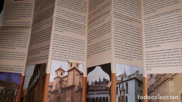 Folletos de turismo: MUSEOS REGIÓN MURCIA ARQUELOGÍA MÚSICA ARTES CIGARRALEJO MULA CATEDRAL SALZILLO MULA BARRANDA SAN JU - Foto 3 - 194620985