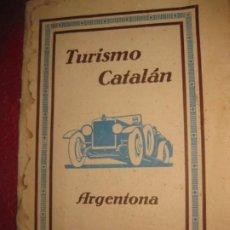 Folletos de turismo: CATALOGO LIBRO TURISMO CATALAN . ARGENTONA NUMEROSAS FOTOGRAFIAS , INFORMACION . Lote 194690430