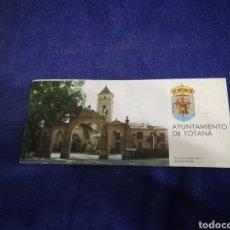 Folletos de turismo: FERIA Y FIESTAS PATRONALES DE SANTA EULALIA. TOTANA. DE 1987. Lote 194701030