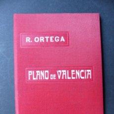 Folletos de turismo: PLANO DE VALENCIA, LIBRERIA DE LA VIUDA DE R. ORTEGA - AÑO 1902 - VER FOTOS ADICIONALES. Lote 194704263