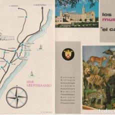 Folletos de turismo: FOLLETO DIPTICO LOS MUSEOS DE EL CARMEN ONDA CASTELLON 1962 -- -R- 5. Lote 194872610