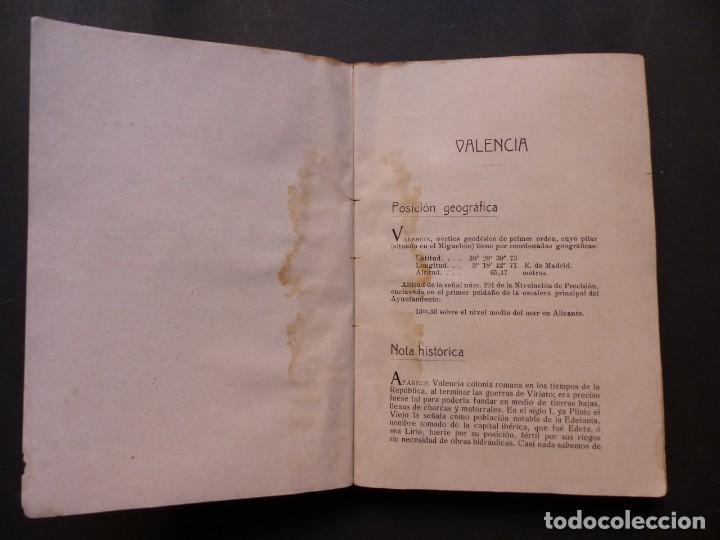 Folletos de turismo: GUIA DE VALENCIA - AÑO 1909, II Congreso de la Asociación Española para el Progreso de la Ciencias - Foto 4 - 194945707