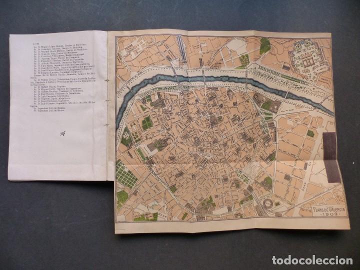 Folletos de turismo: GUIA DE VALENCIA - AÑO 1909, II Congreso de la Asociación Española para el Progreso de la Ciencias - Foto 7 - 194945707