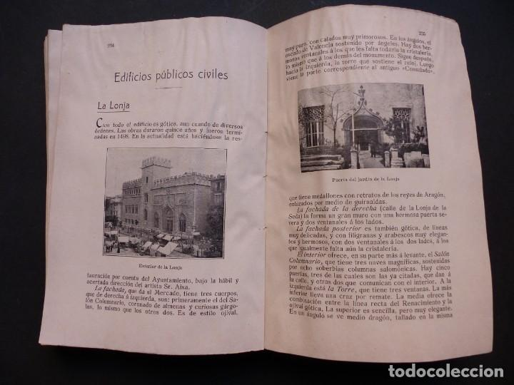 Folletos de turismo: GUIA DE VALENCIA - AÑO 1909, II Congreso de la Asociación Española para el Progreso de la Ciencias - Foto 9 - 194945707