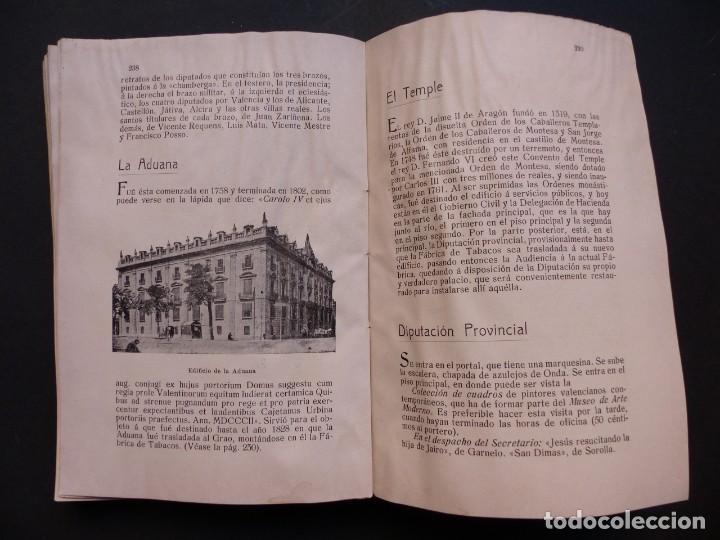 Folletos de turismo: GUIA DE VALENCIA - AÑO 1909, II Congreso de la Asociación Española para el Progreso de la Ciencias - Foto 10 - 194945707