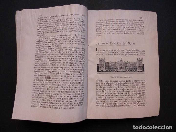 Folletos de turismo: GUIA DE VALENCIA - AÑO 1909, II Congreso de la Asociación Española para el Progreso de la Ciencias - Foto 11 - 194945707