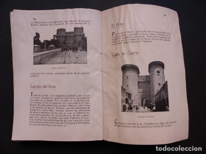 Folletos de turismo: GUIA DE VALENCIA - AÑO 1909, II Congreso de la Asociación Española para el Progreso de la Ciencias - Foto 12 - 194945707