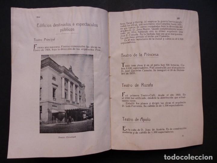 Folletos de turismo: GUIA DE VALENCIA - AÑO 1909, II Congreso de la Asociación Española para el Progreso de la Ciencias - Foto 13 - 194945707