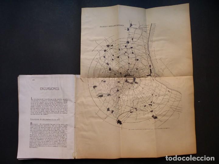 Folletos de turismo: GUIA DE VALENCIA - AÑO 1909, II Congreso de la Asociación Española para el Progreso de la Ciencias - Foto 15 - 194945707