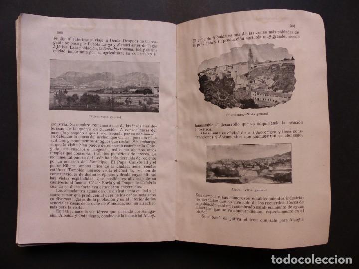 Folletos de turismo: GUIA DE VALENCIA - AÑO 1909, II Congreso de la Asociación Española para el Progreso de la Ciencias - Foto 16 - 194945707