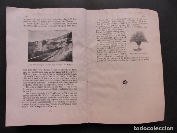 Folletos de turismo: GUIA DE VALENCIA - AÑO 1909, II Congreso de la Asociación Española para el Progreso de la Ciencias - Foto 17 - 194945707