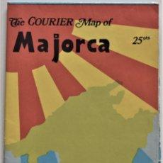 Folletos de turismo: ANTIGUO PLANO DE MALLORCA SEGURAMENTE AÑOS 60-70 CON TODO EL SABOR DE LA ÉPOCA. Lote 195109795