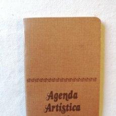 Folletos de turismo: ANTIGUA AGENDA ARTISTICA 1978 EDITORIAL ARTIS MUTI ARTIS-MUTI MADRID. Lote 195141248