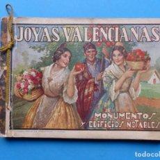 Folletos de turismo: GUIA - JOYAS VALENCIANAS - MONUMENTOS Y EDIFICIOS NOTABLES - AÑO 1935 - VER DESCRIPCION Y FOTOS. Lote 195165518