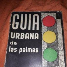 Folletos de turismo: ANTIGUA GUÍA TURÍSTICA URBANA DE LAS PALMAS,GRAN CANARIA, 1964 ,UNAS 30 PÁGS. . Lote 195206488